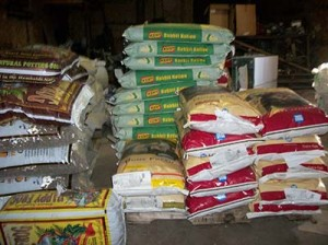 animal feed - other foods